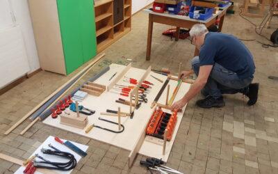 Hier entsteht unsere Ideen-Werkstatt!